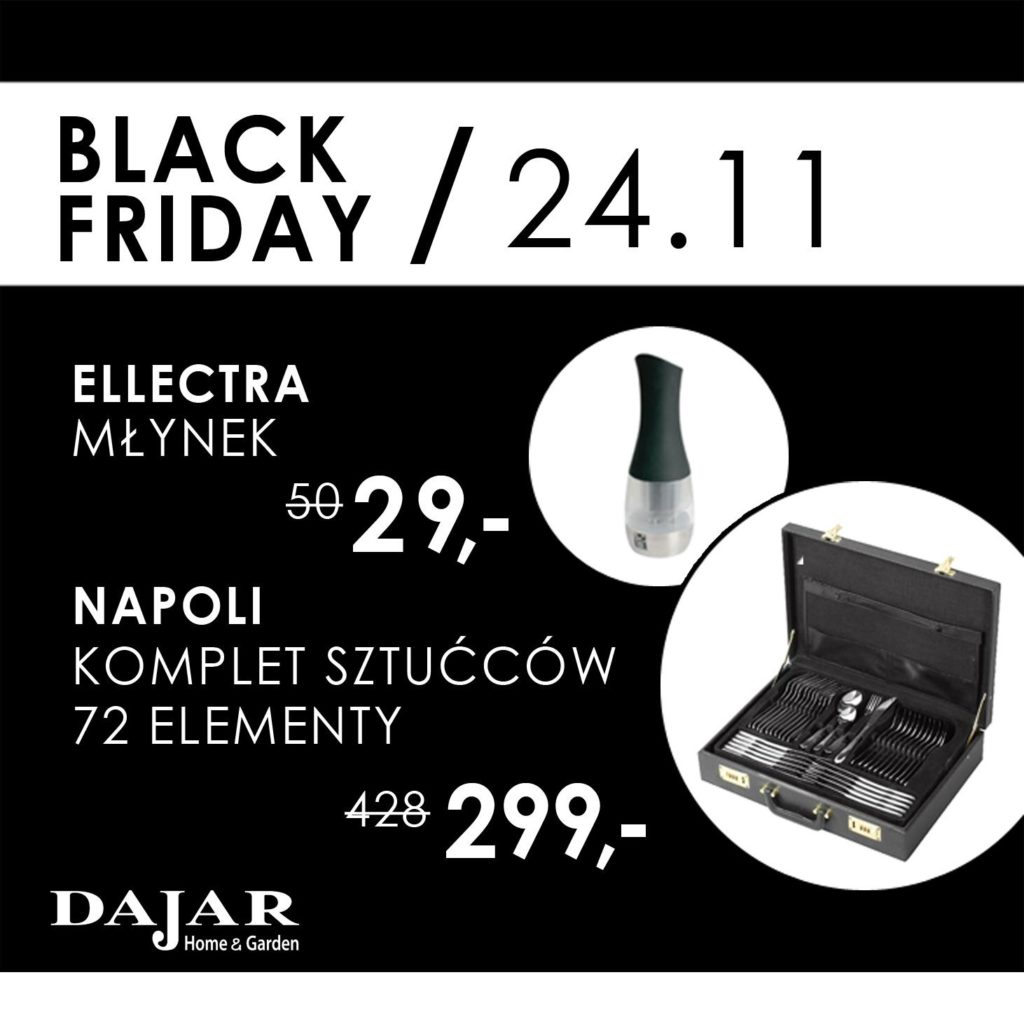 Black Friday Młynek Electra w promocji Ptak Outlet